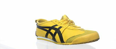 low priced 4b21c be615 ONITSUKA TIGER MENS Mexico 66 Yellow/Black Fashion Sneaker Size 11 (307771)