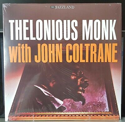 Thelonious Monk With John Coltrane - reissue Jazzland LP record mint played once
