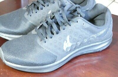 55964ffacd0d Nike Downshifter 7 Women s Size 9 Black Lace-up Running Shoes 852466-004 (