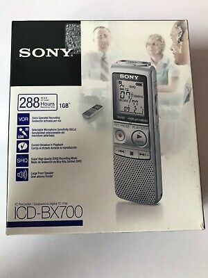 Sony Icd-Bx700 Ic Recorder - Brand New
