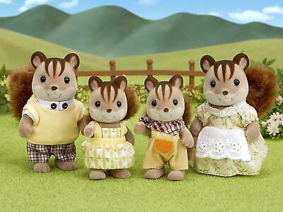 20928 Calico Critters Walnut Squirrel Family Set FS-17 EPOCH from JAPAN