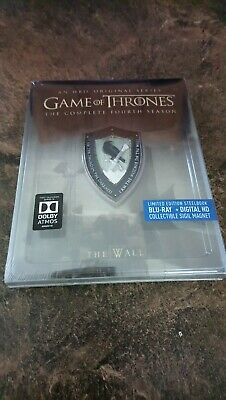 Game of Thrones The Complete Fourth Season [ STEELBOOK Edition ]  (Blu-ray) NEW