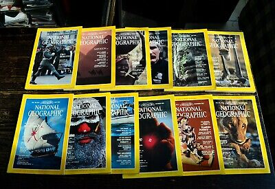 National Geographic USA Edition Année 1982 complet en anglais english
