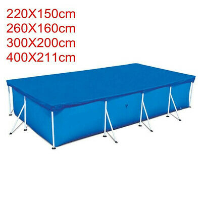 Rectangle Swimming Paddling Pool Cover Protection Cover Above Ground 4 Size Hot