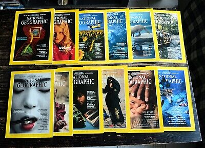 National Geographic USA Edition Année 1987 complet en anglais english