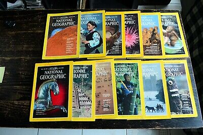National Geographic USA Edition Année 1980 complet en anglais english