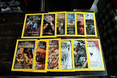 National Geographic USA Edition Année 1991 complet en anglais english