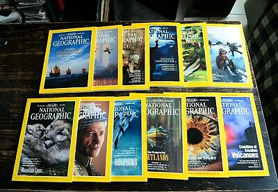 National Geographic Année 1992 complet en anglais