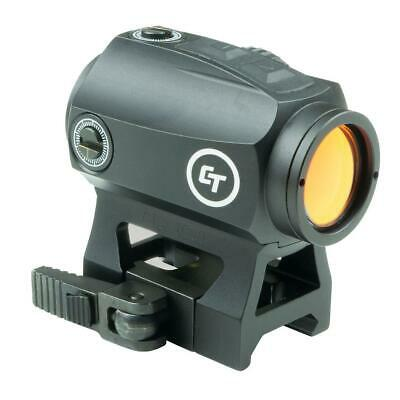 Crimson Trace 1x Compact Tactical Red Dot Sight with 2.0 MOA Dot Reticle