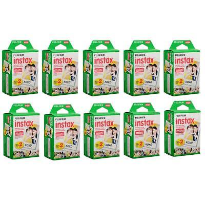 Fujifilm 10 Pack instax mini Instant Daylight Film Twin Pack, 20 Exposures