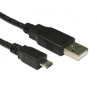 1.8m A Male to MICRO B USB 2.0 Charger Cable Lead XBOX ONE PS4 Controller 6ft 2m