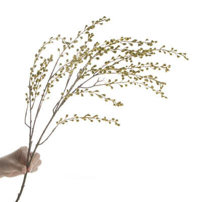 Artificial Tall and Fuzzy Green Ragweed Sprays
