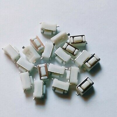 10x SMD Microtaster Push Button micro switch _ 3x6x4.3mm