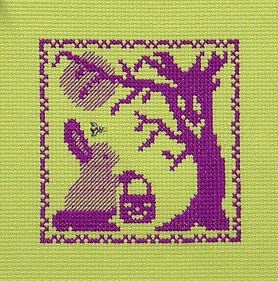 15/% Off Handblessings Counted X-stitch chart-Haunted House in the Moon