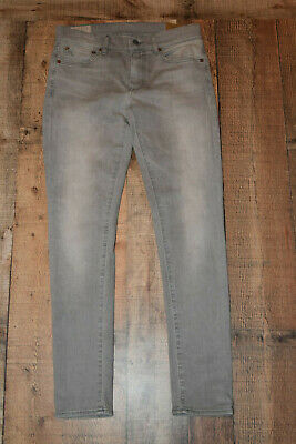b5e4ab239  125 NWT Polo Ralph Lauren Womens Tompkins Gray Skinny Jeans Size 29