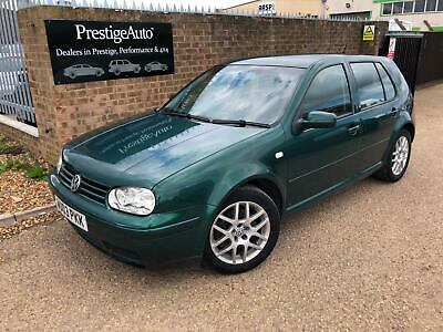 2003 Volkswagen Golf 1.9 GT TDI 150 6 SPEED FSH 112K SPORTS RECARO SEATS FSH CD