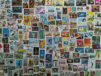 500 Different Africa Stamp Collection