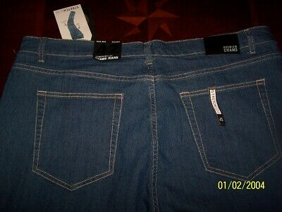 aabf9522131 NWT ($59.50) MENS 42 X 30 Cremieux Relaxed Fit Vintage Stretch Denim ...