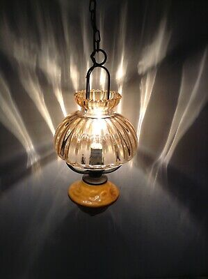 Vintage Farmhouse French Oil Lamp Style Ceiling Light (3481)