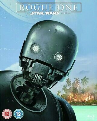 ROGUE ONE: A Star Wars Story - Blu-ray 2017 With Sleeve BRAND NEW Factory Sealed