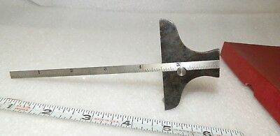 """6"""" vintage depth gage Proto GD-610A adjustable old/new stock with box"""