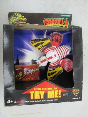 1994 Godzilla: King Of Monsters MOTHRA with ROAR action MIB Trendmasters