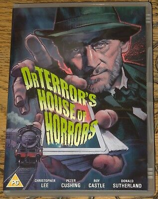 Dr Terrors House Of Horror 1965 Genuine Uk All R0 Dvd With English Subtitles