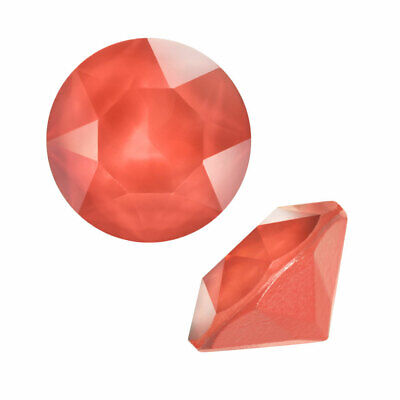 Swarovski Crystal, #1088 Xirius Round Stone Chatons ss39, 6 Pieces, Light Coral