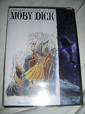 New Hakugei Legend of Moby Dick Ahab Awaits Volume One DVD Whale Hunters Sci Fi