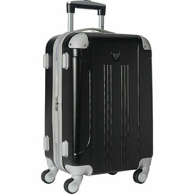 """Travelers modern collection Club 20"""" Expandable Rolling Carry on Luggage (23)"""