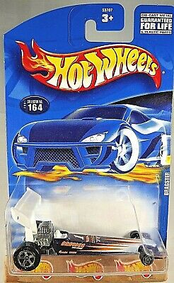2001 Hot Wheels Collector #164 DRAGSTER Purple/White w/5SpRear-MW Front Variant