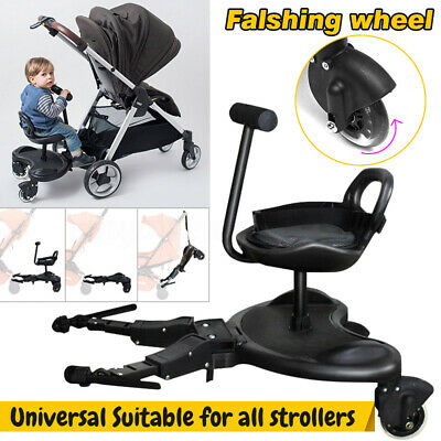 Baby Sit Ride On Tandem Seat Board Attachment for Pram/Stroller for Toddler