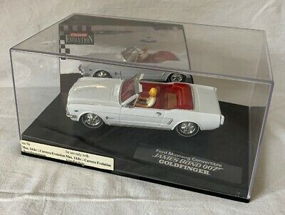 Carrera Evolution Ford Mustang Convertible James Bond 007 Goldfinger 25737