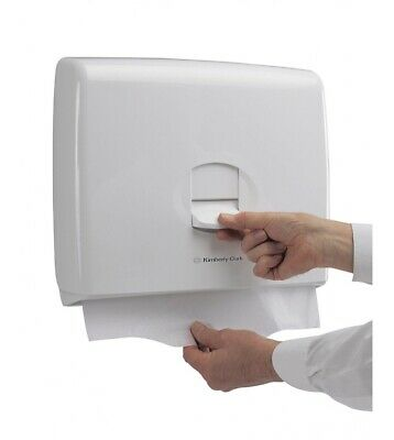 New Kimberly-Clark Toilet Seat Cover Paper Towel Dispenser Disabled Mobility Aid