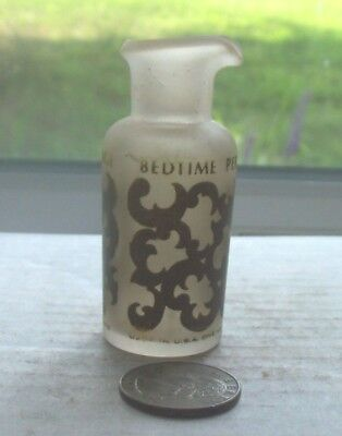 Nice Vintage Frosted French Perfume,,Woodhue Faberge Bedtime Perfume