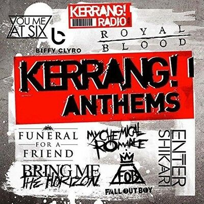 VARIOUS ARTISTS Kerrang! Anthems CD NEW 2016