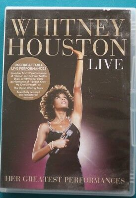 Whitney Houston Live Her Greatest Performances Dvd Ntsc Reg 0 Ft. Mariah Carey