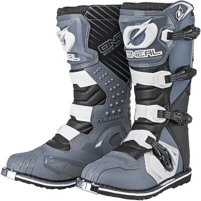 2018 Oneal Rider Boots - Black Grey