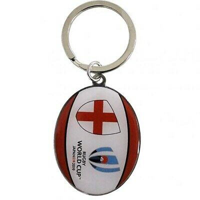Polished Rugby Ball or Cricket Bat silver-plated keyring gift sport player