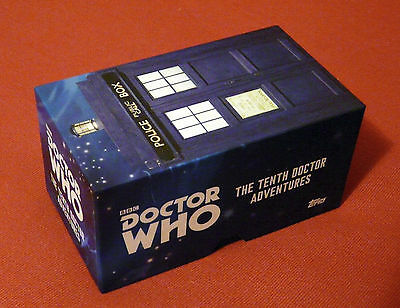 Topps: Dr Who Tenth Doctor Adventures Widevision 88 Card Base Set and Box