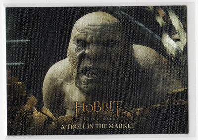 The Hobbit The Battle of the Five Armies - Base Card 53 Canvas Parallel 07/75