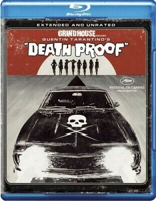 GRINDHOUSE PRESENTS DEATH PROOF New Sealed Blu-ray Extended and Unrated