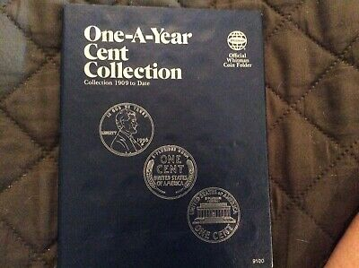 One-A-Year Lincoln Cent Collection 1909-1997 85 Nice Pennies.