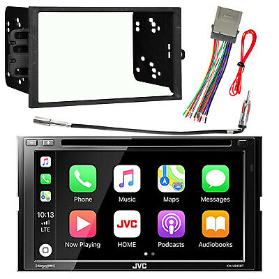 """6.8""""  2-DIN Receiver CarPlay Android Auto Bluetooth, Dash Kit, Harness, Adapter"""