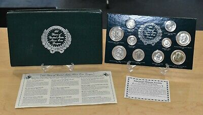 100 Years of United States Silver Coin Designs Set w/ COA Free Shipping BIN