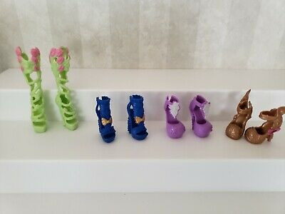 EVER AFTER Shoes - Lot of 4 Pairs - Monster High