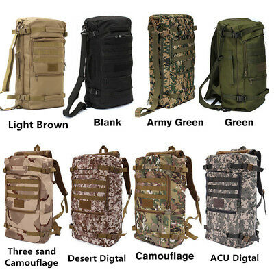 Outdoor Military Tactical Backpack Camping Hiking Daypack Shoulder Tactical Bag