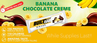 Banana Chocolate Creme - Built Bar TEN LEFT IN EXISTENCE!  ORDER NOW!!