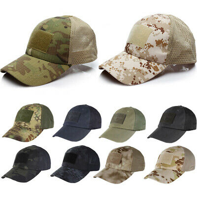 Tactical Baseball Cap Mil-Tacs FG Sun Peak Hat Army Military Airsoft Soldier