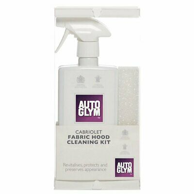 Autoglym FABHOODKIT Car Detailing Exterior Convertible Soft Top Cleaner Kit